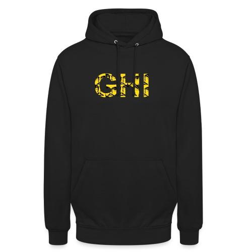 Logo Ghemba oro - Felpa con cappuccio unisex