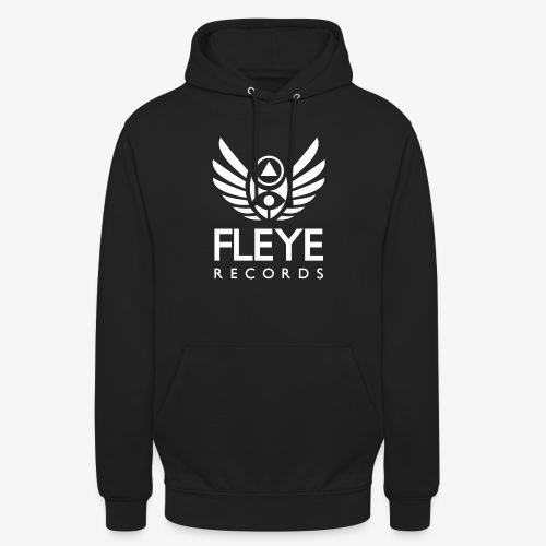 Fleye Records (White Logo Design) Tøj m.m. - Hættetrøje unisex