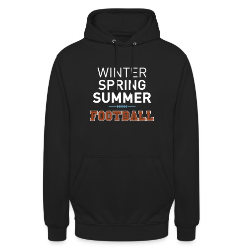 4 Seasons - American Football - Unisex Hoodie