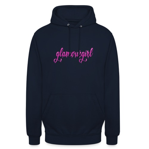 Glamourgirl dripping letters - Hoodie unisex