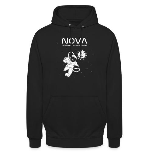 Novacyt cosmonaute - Sweat-shirt à capuche unisexe