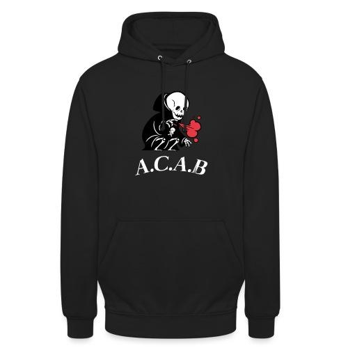 A.C.A.B la mort - Sweat-shirt à capuche unisexe