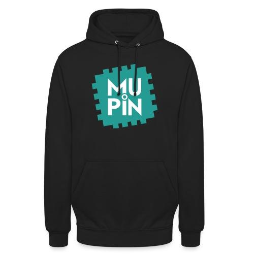 Logo Mupin quadrato - Felpa con cappuccio unisex