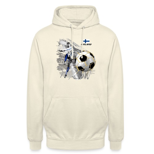 "GP22F-05 FINLAND FOOTBALL PRODUCTS - Tuotteet - Huppari ""unisex"""
