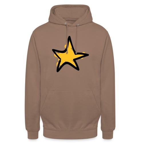 Star Line Drawing Pixellamb - Unisex Hoodie