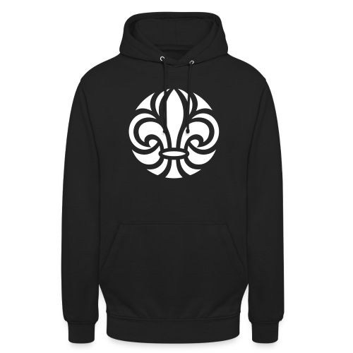 Scouterna-symbol_white - Luvtröja unisex