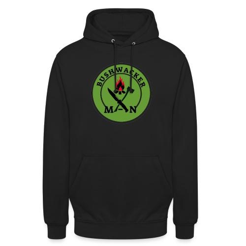 bushwackers logo green - Unisex Hoodie