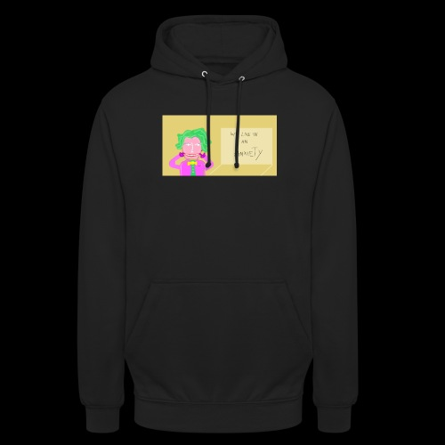 we live in an anxiety - Unisex Hoodie