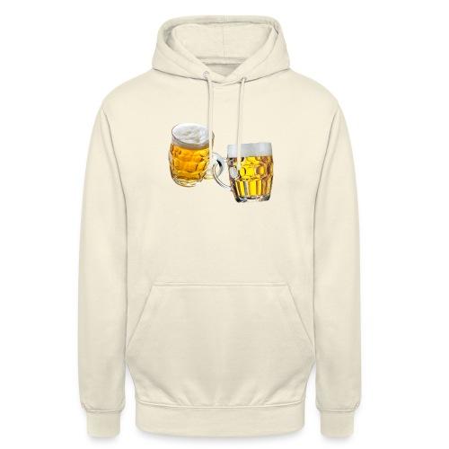 Boccali di birra - Felpa con cappuccio unisex