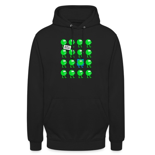 We are all green dots! - Unisex Hoodie