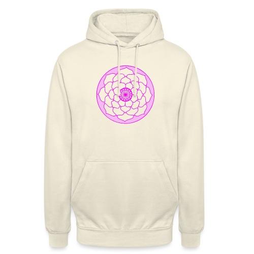 Pink Lotus Flower Mandala - Unisex Hoodie