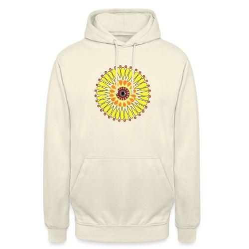 Yellow Sunflower Mandala - Unisex Hoodie