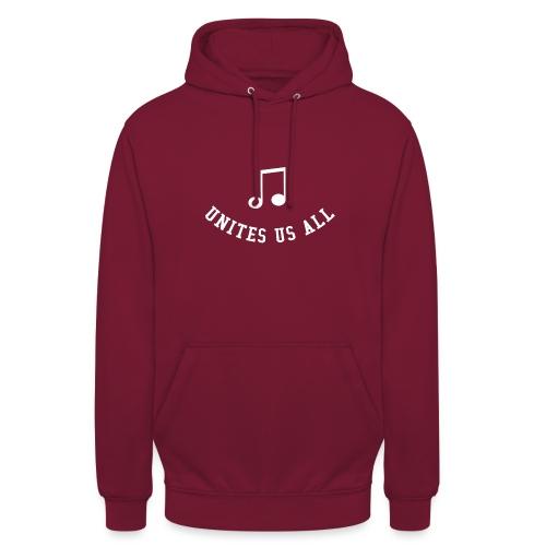Music Unites Us All Shirt - Unisex Hoodie