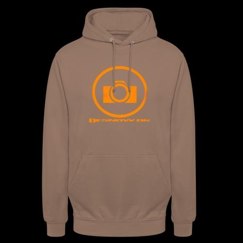 Orange 2 png - Hættetrøje unisex