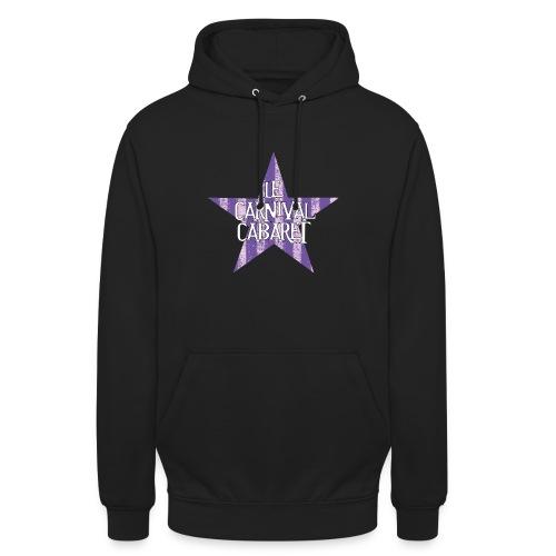 bonnet LCC noir etoie violette - Unisex Hoodie