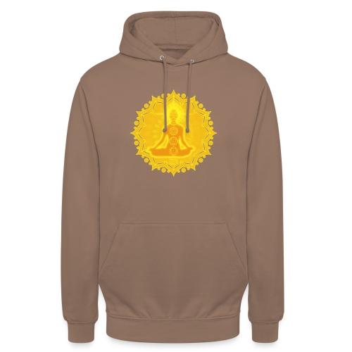 Yoga Lotus Meditation Chakren III - Unisex Hoodie