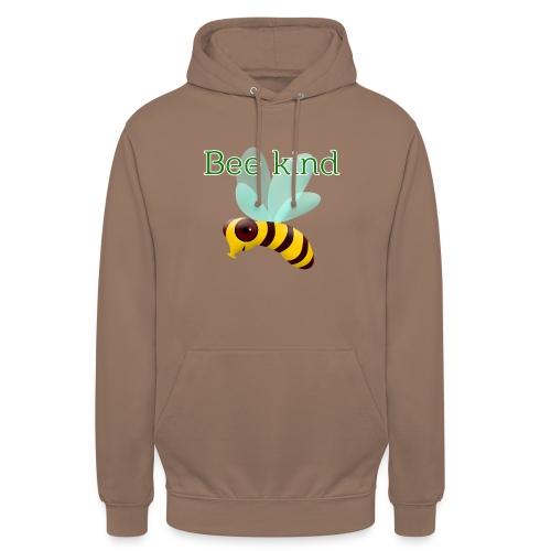 Bee kind - Sudadera con capucha unisex