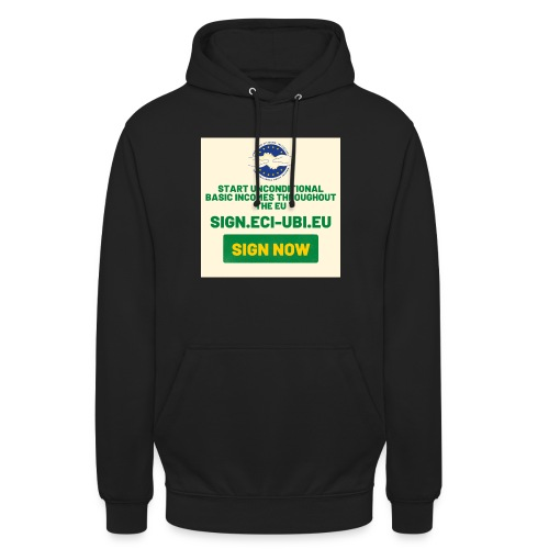 start unconditional basic incomes - Hoodie unisex