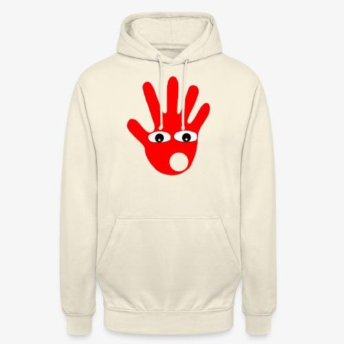Hände mit Augen - Sweat-shirt à capuche unisexe