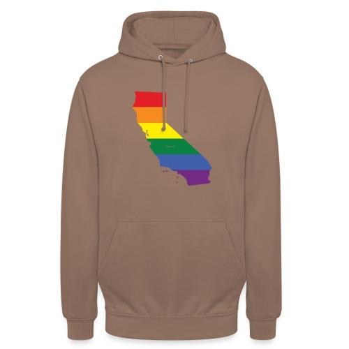 California Rainbow Flag - Unisex Hoodie