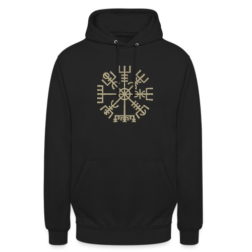 Vegvisir-The-Runic-Viking or - Sweat-shirt à capuche unisexe