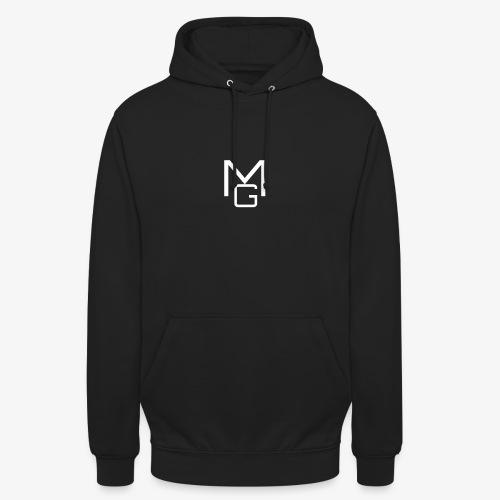White MG Overlay - Unisex Hoodie