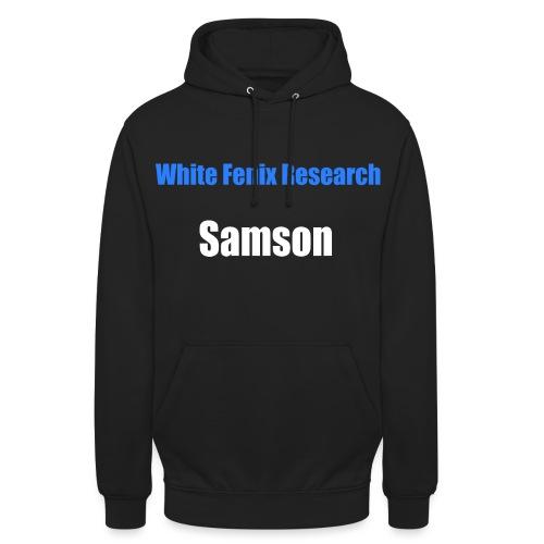 WFR Samson - Sweat-shirt à capuche unisexe