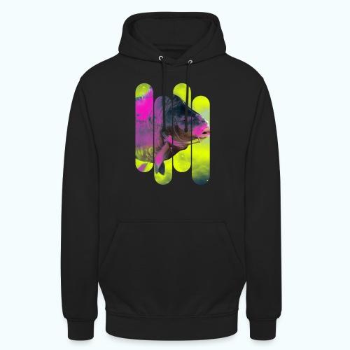 Neon colors fish - Unisex Hoodie