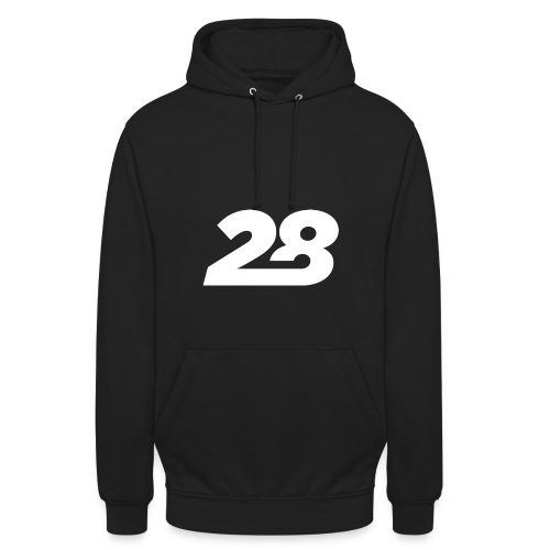 28 White - Unisex Hoodie