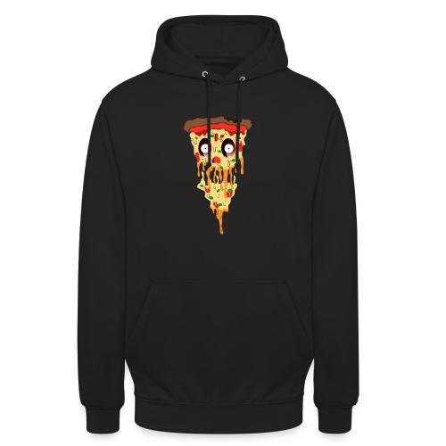 Schockierte Horror Pizza - Unisex Hoodie