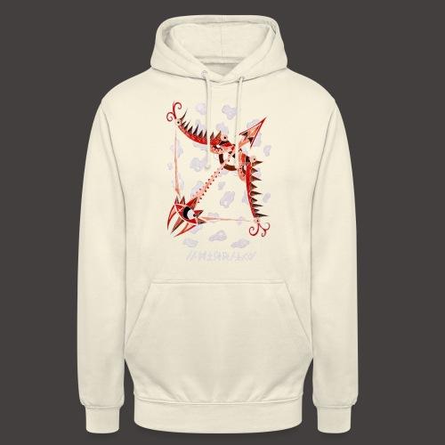 Sagittaire Négutif - Sweat-shirt à capuche unisexe