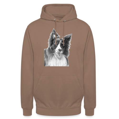 border collie 3 - Hættetrøje unisex