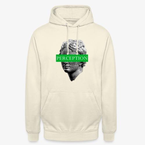 TETE GRECQ GREEN - PERCEPTION CLOTHING - Sweat-shirt à capuche unisexe
