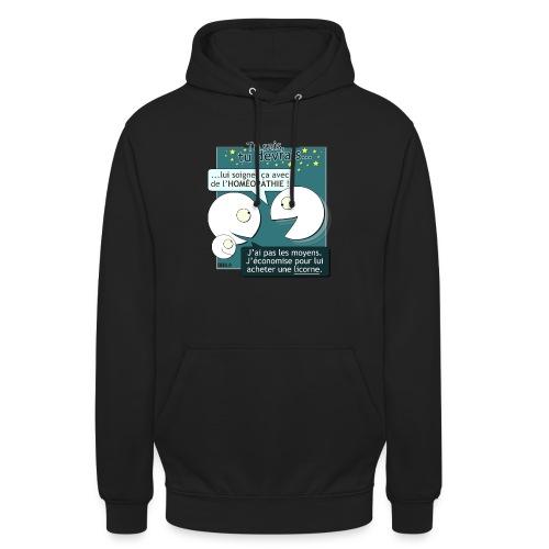 Conseils & homéopathie - Sweat-shirt à capuche unisexe