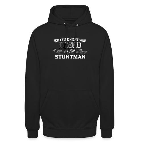 Ich falle nicht vom Pferd ich bin Stuntman Reiten - Unisex Hoodie