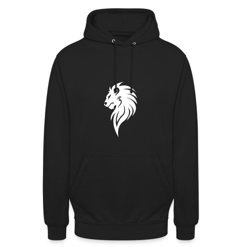 Lion White.png - Unisex Hoodie