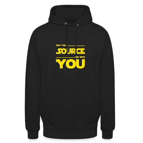 May Source Be With You für Programmierer - Unisex Hoodie