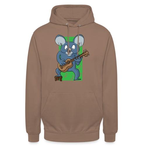 La koala ukuléliste - Sweat-shirt à capuche unisexe