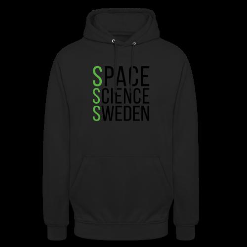 Space Science Sweden - svart - Luvtröja unisex