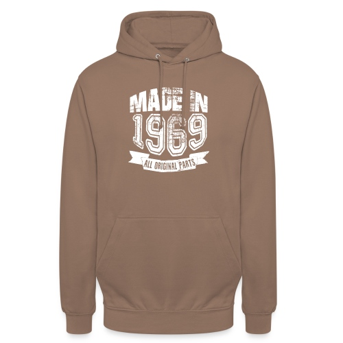 Made in 1969 - Sudadera con capucha unisex