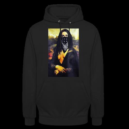 Mona Lisa Gangsta - Bluza z kapturem typu unisex