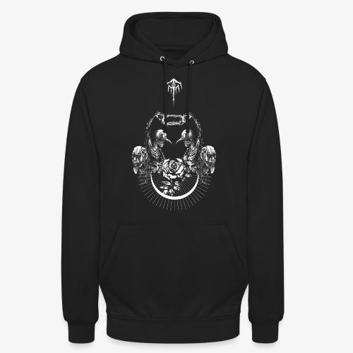 Nocturn design 2 - Sweat-shirt à capuche unisexe