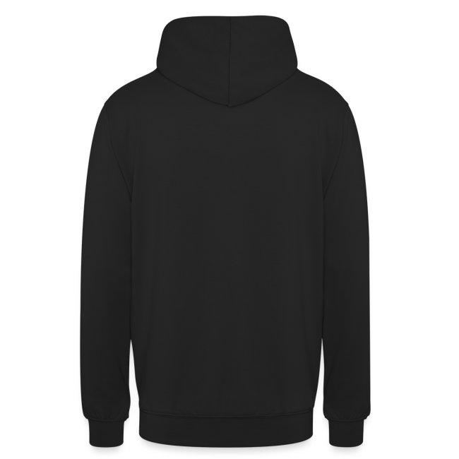 M-Skull white on black