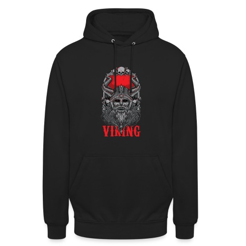 "Viking T Shirt Design red - Huppari ""unisex"""