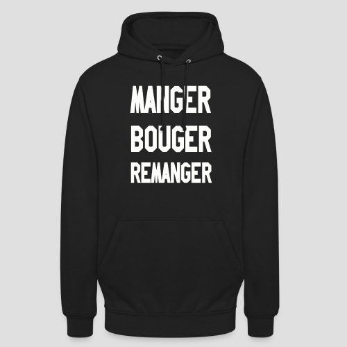 MBR png - Sweat-shirt à capuche unisexe
