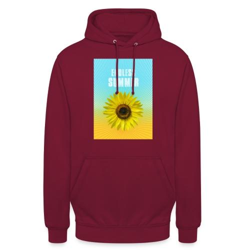 sunflower endless summer Sonnenblume Sommer - Unisex Hoodie