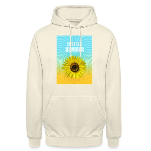 sunflower endless summer Sonnenblume Sommer - Unisex Hoodie