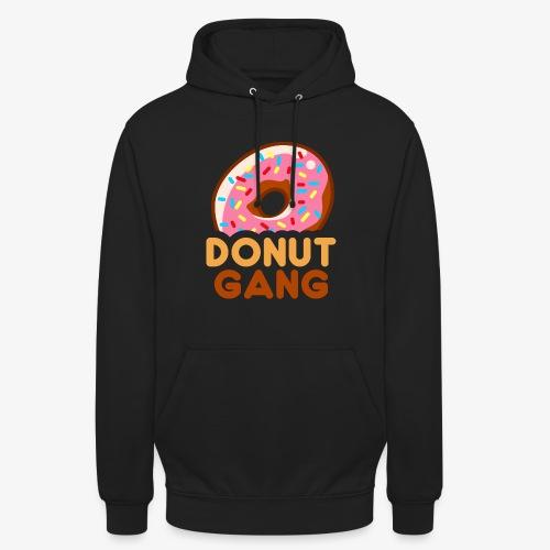 Donut Gang - Logo (med tekst) - Hættetrøje unisex