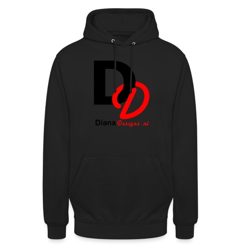 logo_diana_designs-nl - Hoodie unisex