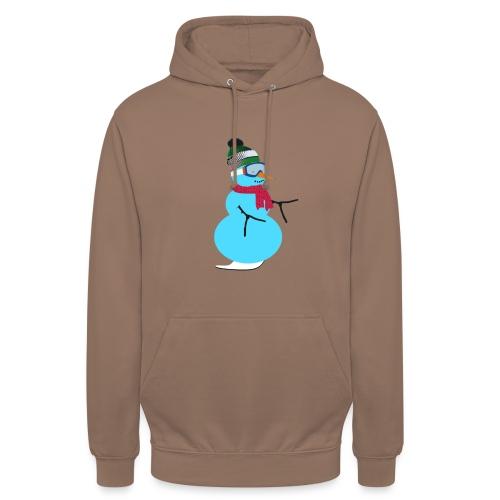 "Snowboarding snowman - Huppari ""unisex"""